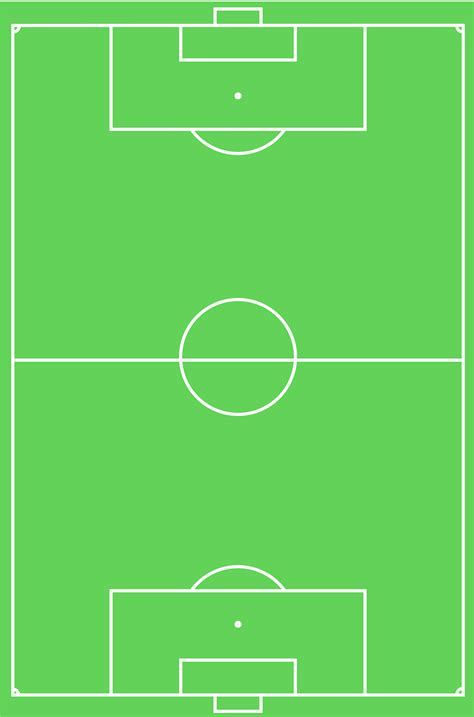 soccer field layout correct dimensions markings  cake