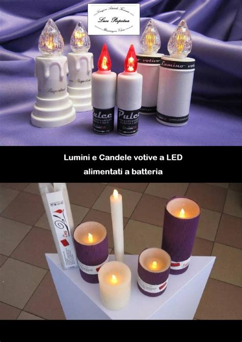 candele a batteria catalogo lumini e candele led by luce perpetua issuu