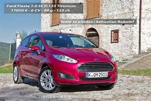 Ford Fiesta Nouvelle : essai nouvelle ford fiesta 1 0 ecoboost 125 actu automobile ~ Melissatoandfro.com Idées de Décoration
