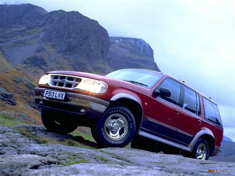 Ford Explorer UK-spec 1995–2001 photos (1024x768)