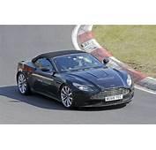 2018 Aston Martin DB11 Volante  Top Speed