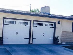 9x7 with glass deca trim window inserts after market With 9x7 garage door with windows