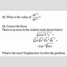 Rational Exponents Worksheet(pdf) And Answer Key 24 Questions