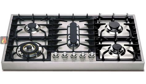 plaque de cuisson gaz 90 cm inox 224 poser 5 foyers dont 1 wok et 1 poissonni 232 re ilve ec ilv381