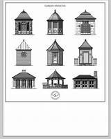 Gazebo Clipart Dreamy Pavilions Buildings Structures Architects Ville Va Designlooter sketch template
