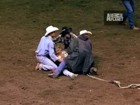 Rodeo Bull Attack - YouTube