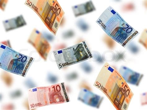 money rain stock photo colourbox