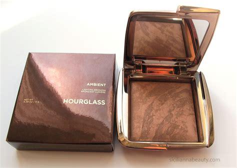 hourglass ambient lighting bronzer review hourglass radiant bronze light ambient lighting