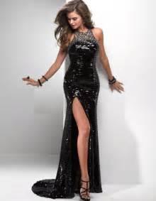 black sequin bridesmaid dresses beautiful black sequin prom dresses 2014 prom styles