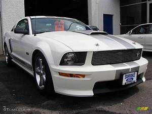 2007 Performance White Ford Mustang Shelby GT Coupe #8973683 Photo #3 | GTCarLot.com - Car Color ...