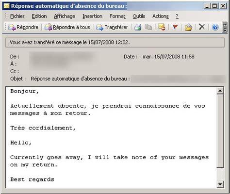 je serai absente du bureau je serai absent du bureau 28 images mails d absence