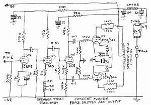 Concert Master Vintage Valve  Tube  Amplifier
