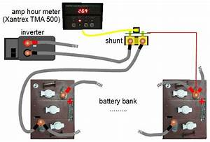 Amp Hour Meter  Battery Status Monitor