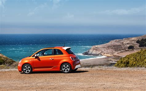 Fiat 500 4k Wallpapers by Fiat 500 At Sea 4k Hd Wallpaper 4k Cars Wallpapers