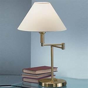franklite swing arm floor lamp brass finish with cream With living swing arm floor lamp brass finish