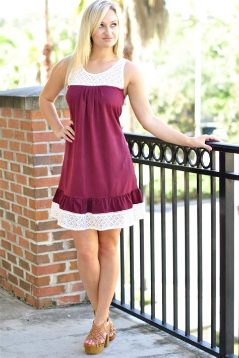 ten gameday dress crimsonwhite