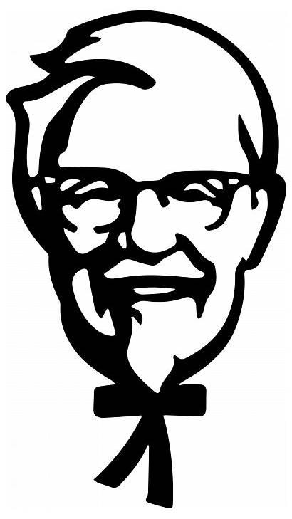Kfc Logos Face Svg Chicken