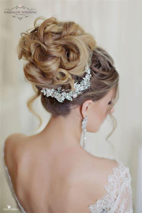 glamorous wedding hairstyles with elegance modwedding