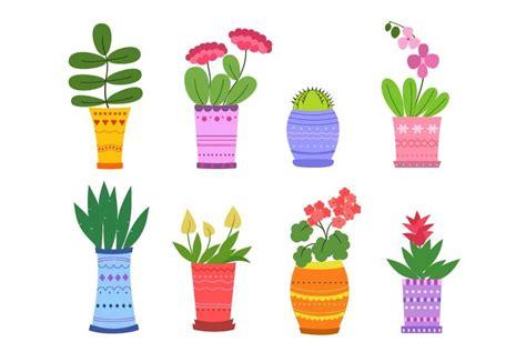 Pink Flower Clipart Cool Cartoon