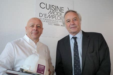 formation cuisine thierry marx cuisine mode d 39 emploi s dijon accueille ses premiers