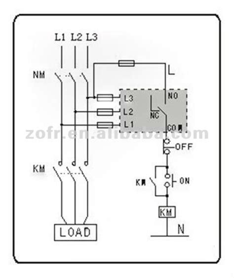 xj11 phase failure and phase sequence protection relay buy phase failure relay phase sequence