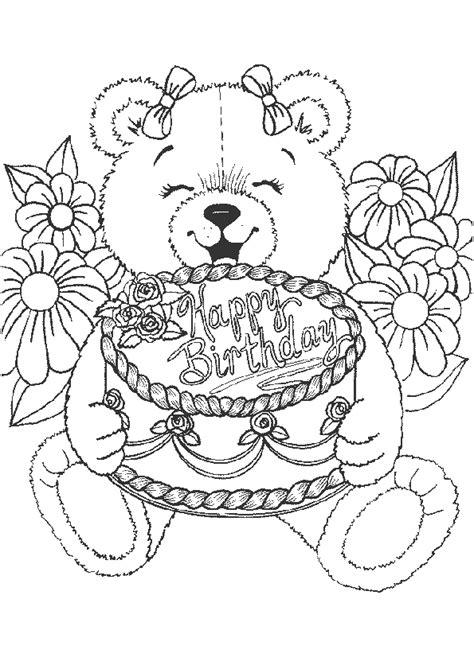 Donuts Kleurplaat Hapy Birthday by Kleurplaat Hartelijk Gefeliciteerd Happy Birthday 4339