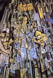 Dali, Salvador - cubist self-portrait - Canvas Painting