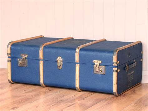 Blue Steamer Trunk  Sold Scaramanga