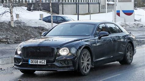 Bentley Flying Spur Photo by Bentley Flying Spur Phev Photo Motor1 Photos