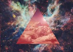 galaxy illuminati   Tumblr  Hipster Triangle Galaxy Wallpaper