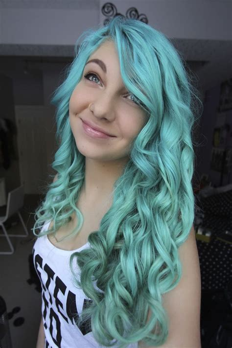 Turquoise Blue Hair Dyed Hair And Pastel Hair Pinterest