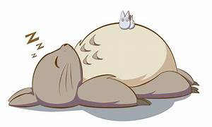 Totoro ZZZ by AngriestAngryArtist on DeviantArt