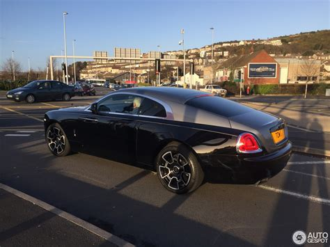 rolls royce wraith black badge rolls royce wraith black badge 11 january 2017 autogespot