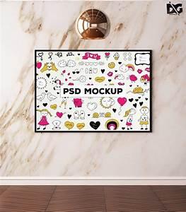 free, poster, psd, display, mockup