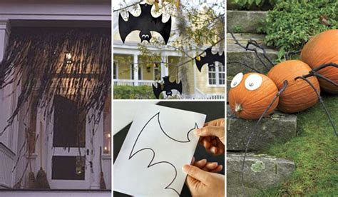 Last-minute Cheap Diy Halloween Decorations You Can