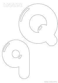 molde letras do alfabeto ideia criativa gi barbosa educa 231 227 o infantil felt crafts