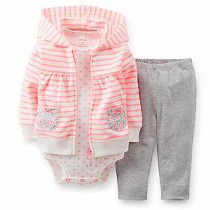 UPC 888510044420 - Baby Girl (12-24M) Carter's Hoodie Set ...