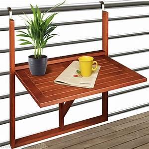 Balkontisch Zum Aufhängen : balkontisch 64x45x87cm aus akazien hartholz klappbar ~ Lizthompson.info Haus und Dekorationen