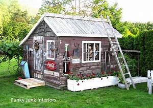 Decorating the great outdoors with junk for 'Gitter Done