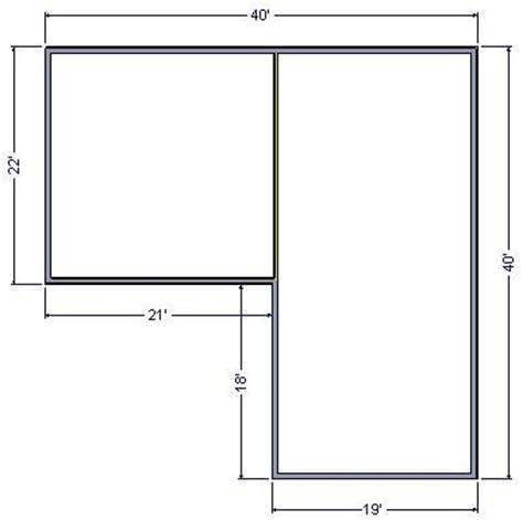 l shaped garage plans learn 10x20 shed design quick easy