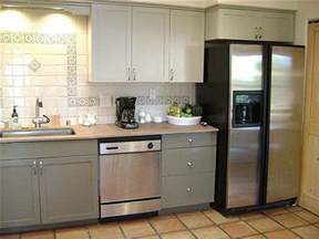 blue kitchen backsplash painting your kitchen cabinets is easy just follow our