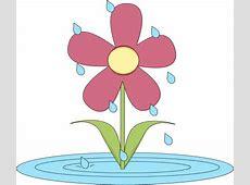 April Showers Border Clipart