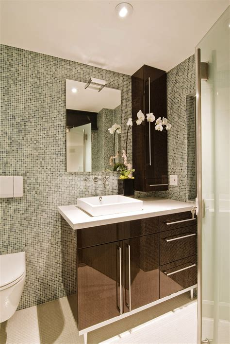 great ideas  sea glass bathroom tile