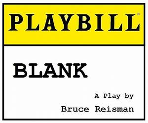 Playbill Template - beepmunk