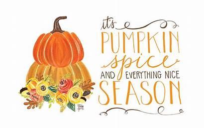 Pumpkin Desktop Fall Spice Season October Wallpapers