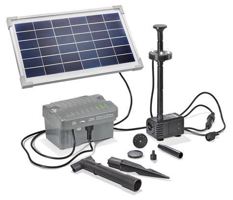 solar teichpumpe mit akku solar teichpumpe 8w 300l h akku led solarpumpe