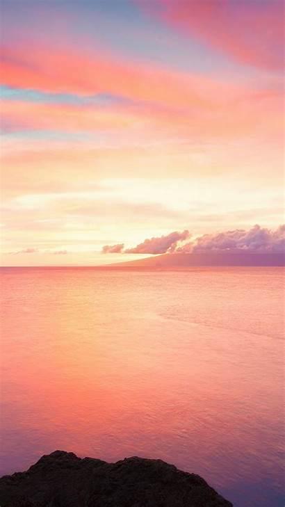 Sky 4k Ocean Clouds Water Sunset Sunrise