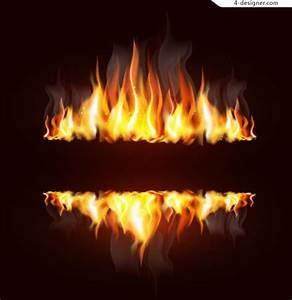 4-Designer   Creative flame design vector material