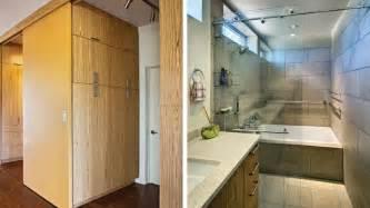 bathroom and closet designs modern bathroom design with wooden walk in closet ideas olpos design