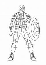 Coloring Squad Hero Super Pages Random Captain America Superhereos Printable Books Last Parentune sketch template
